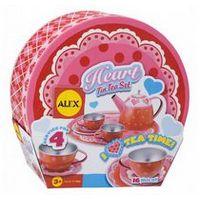 Чайный набор Сердце металлический, ALEX