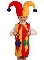 Карнавальный костюм АРЛЕКИН, 3-5 лет, Бока