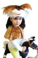 Карнавальный костюм БЕЛОЧКА (легкий), 3-7 лет, Бока