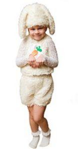 Карнавальный костюм КРОШКА-ЗАЙКА, 3-5 лет, Бока