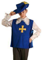 Карнавальный костюм МУШКЕТЕР, 5-7 лет, Бока
