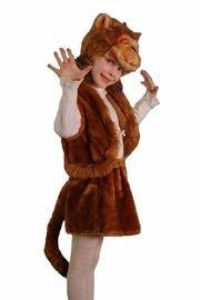 Карнавальный костюм ОБЕЗЬЯНА девочка, 5-7 лет, Бока