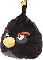 Декоративная подушка Black bird Angry Birds