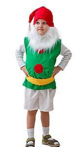 Карнавальный костюм ГНОМ (малый), 3-5 лет, Бока