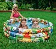 Надувной бассейн в стиле Disney ВИННИ ПУХ, 147х33 см, от 3 до 6 лет