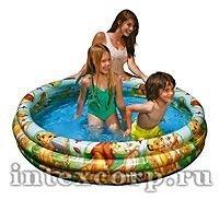 Надувной бассейн в стиле Disney КОРОЛЬ ЛЕВ, 147х33 см, от 3 до 6 лет