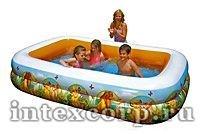 Надувной бассейн INTEX в стиле Disney - КОРОЛЬ ЛЕВ, 262х175х56 см
