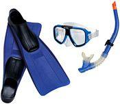 Набор для подводного плавания: ласты, маска, трубка Авиатор INTEX