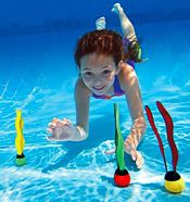 МЯЧИ для подводного плавания, 3 шт. в наборе, от 6 лет