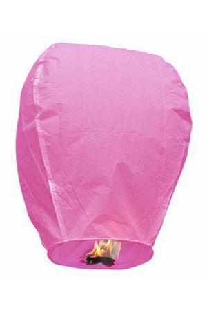 Небесный фонарик Конус Розовый