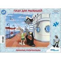 Пазл для малышей Любимые мультфильмы (средние)(С/м) в ассортименте, Step Puzzle