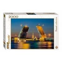 Мозаика-пазл Санкт-Петербург 2000 эл., Step Puzzle
