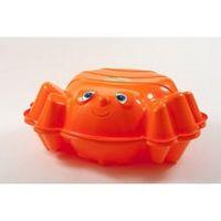 Песочница с крышкой Пчелка, оранжевый, KHW
