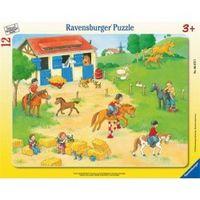 Пазл Выходные на конюшне, Ravensburger