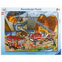 Пазл Борьба с огнем 14 шт, Ravensburger