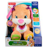 Сестричка ученого щенка с технологией Smart stages, Fisher-Price