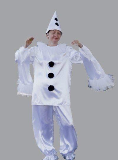 Новогодний костюм пьеро своими руками